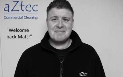 Matt returns to aZtec after brain tumour operations