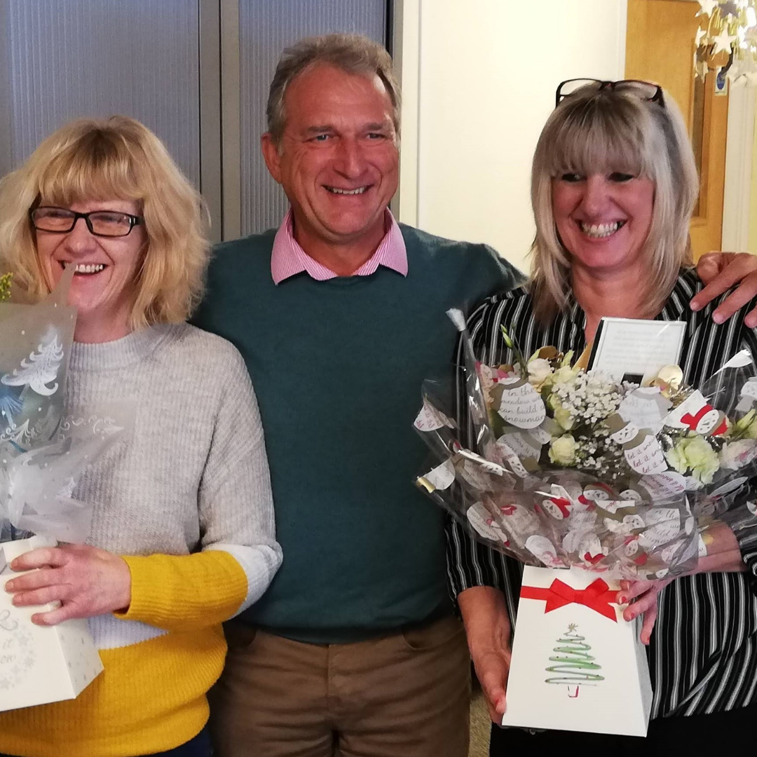 25 year staff anniversary celebration at aztec low staff turnover in commercial cleaning
