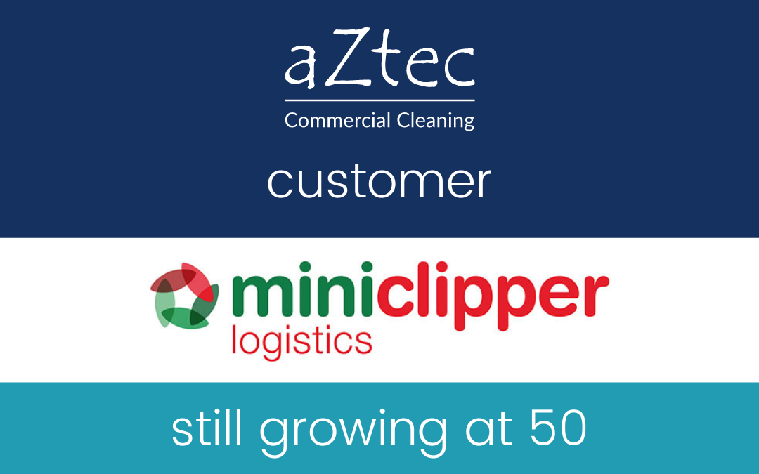 aztec customer miniclipper logistics still growing at 50