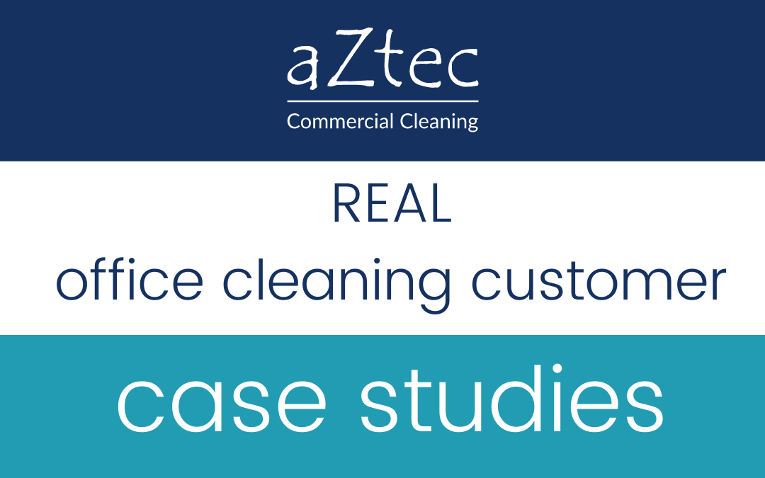 real office cleaning customer case studies